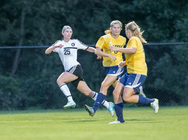Grace's Meredith Hollar, who starred at WCHS, scored the winning goal for the Lancers Friday night (File photo by Jeff Nycz)