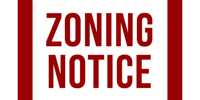 Zoning Notice Icon 2014