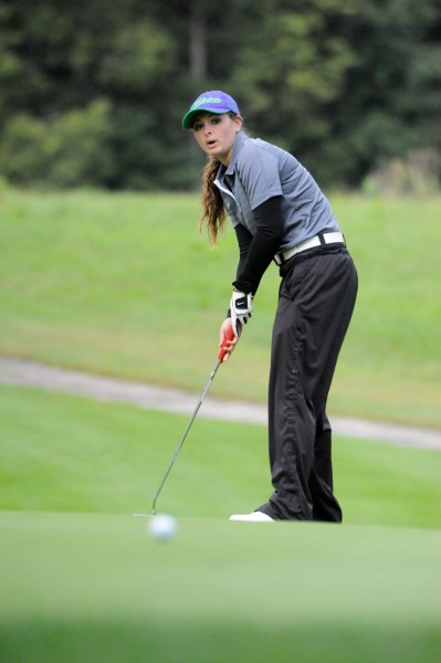Mikala Mawhorter of Wawasee was the runner-up of the Northern Lakes Conference tournament.