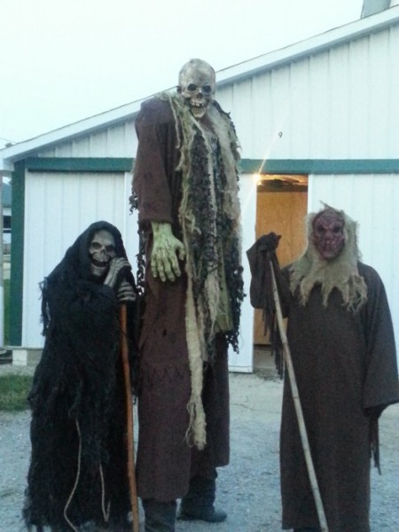 The Soul Taker stands with his acolytes, waiting for you to visit his labyrinth of screams.