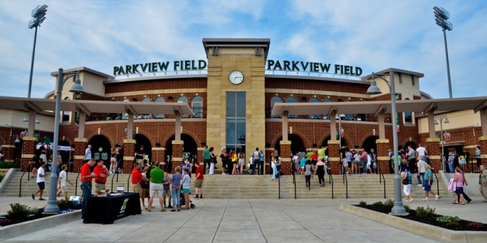 Parkview Field was rated the No. 1 minor league ballpark in the country, according to ddd magazine. (Photo provided by Jason Fritcha)