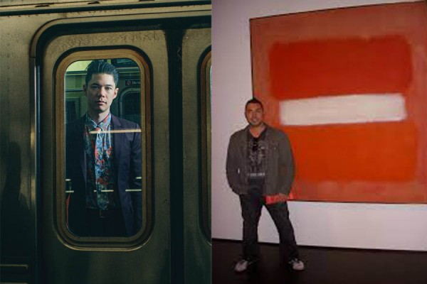On the left is Parker Ito, young millenial artist, has work that is increasing during his life. On the right is  Mark Rothko, deceased, who has work that continues to increase in value and receives some of the highest awards ever made in auctions. (Photos provided)