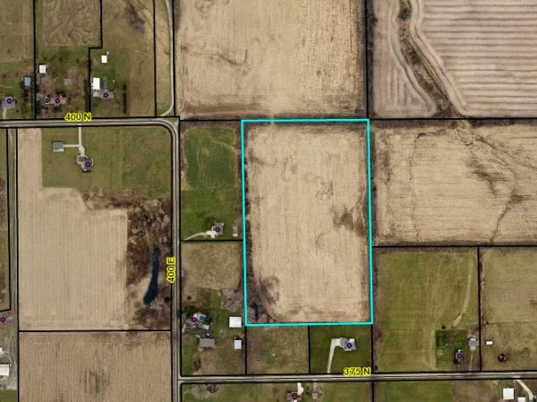 Outlined is the proposed tract of ground for a substance abuse addiction rehab facility in Tippecanoe Township. It is to the north of CR 375N and east of CR 400E.