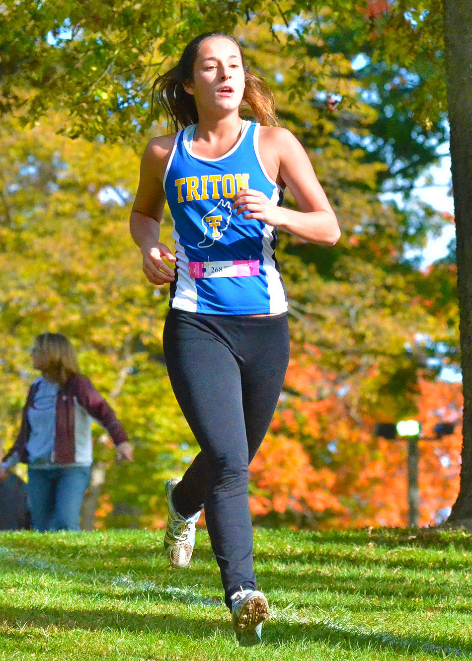 Makayla Musilli of Triton is one of two girls, along with Bailey McIntire, to qualify for the Culver Academy Regional.