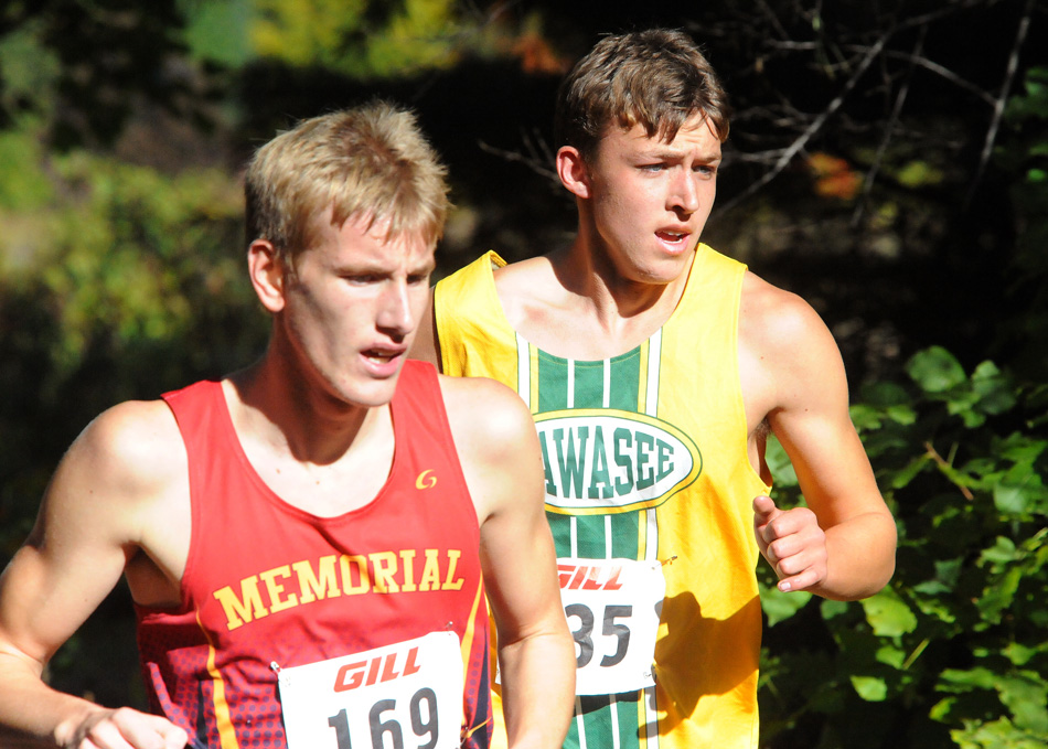 Wawasee's Jaxon Bame has played a vital role in the boys team success this season, and will be counted upon again this Saturday at the Elkhart Central Cross Country Regional. (Photo by Mike Deak)