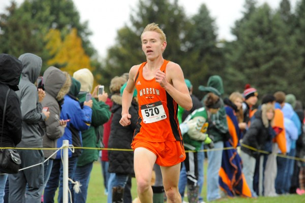 Senior Daniel Messenger and the Warsaw boys will compete at New Prairie on Saturday.