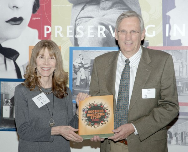 co-authors Lee Ann Sandweiss and Jim Madison. (Photo provided)