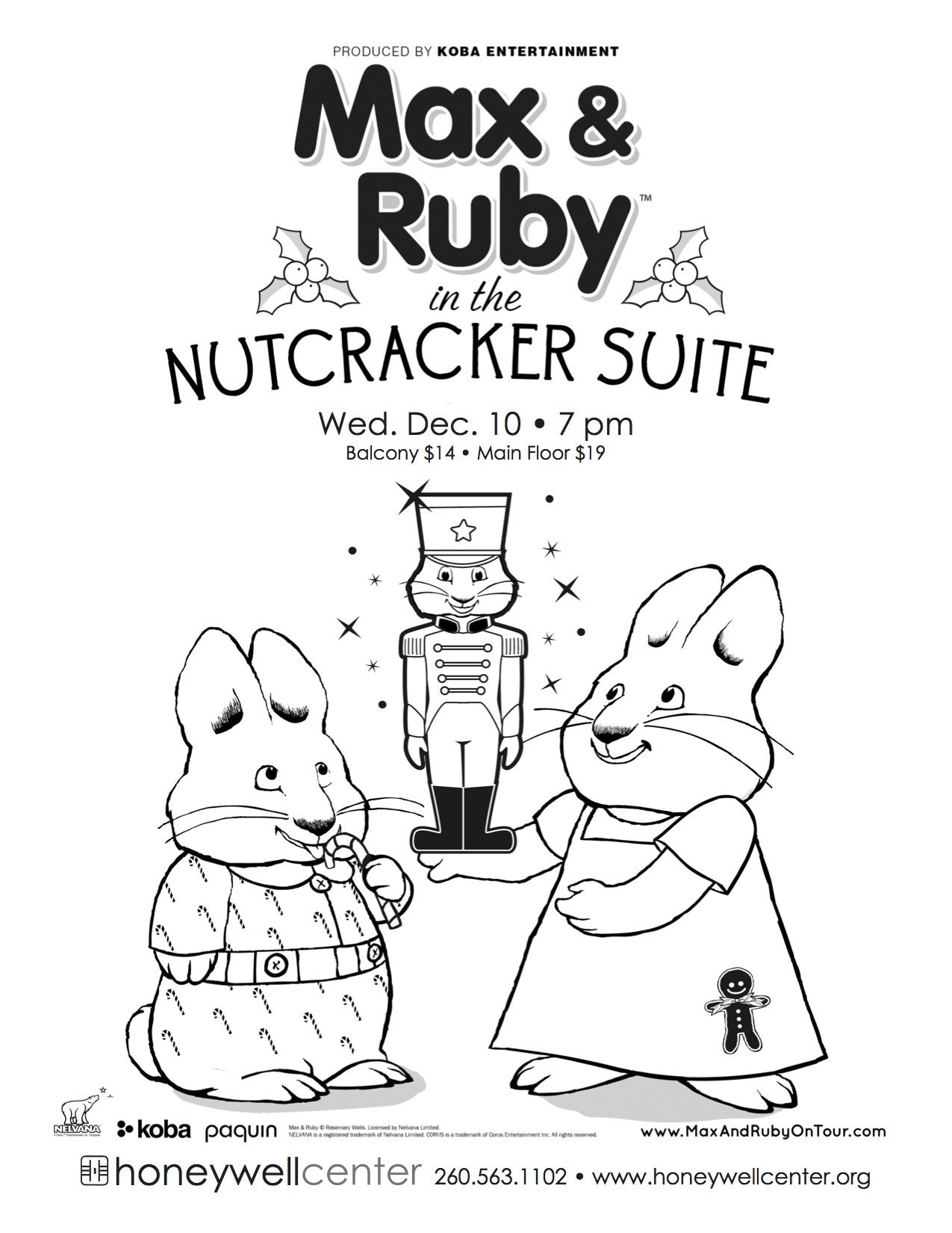 Honeywell Center\'s Max And Ruby Coloring Contest – InkFreeNews.com