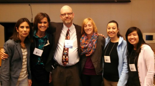 (L-R) Brenda Herrera, Wendy Wildman Long, Dr. Boals, Jenifer Rafferty, Amber Hackworth and Jennivine Yu