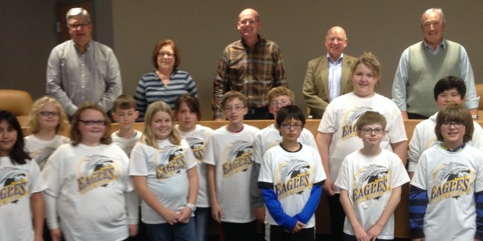 eisenhower elementary at warsaw common council