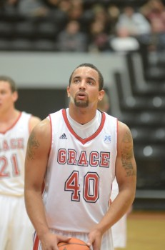 Chad Hoffert, a former standout at Tippecanoe Valley High School, has been a great addition this season for Grace.
