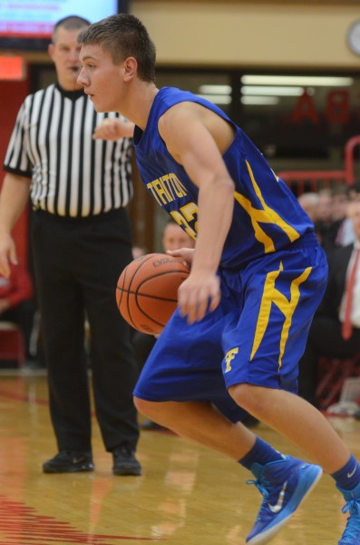 Austin Sellers led Triton with 16 points Tuesday night.
