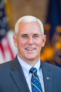 Governor Mike Pence (Photo Provided)