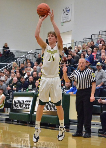 Gage Reinhard led all scorers with 24 points.