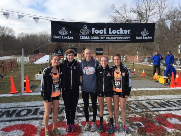 Several members of the WCHS girls cross country team competed Saturday in the Foot Locker Midwest Championships in Wisconsin. Representing Warsaw were Allison Miller, Hannah Dawson, Mia Beckham, Charlene Orr and Lauren Orr (Photos provided by Matt Campbell)