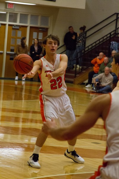 Warsaw's Tim Swanson will be action when the Tigers host their own tourney Dec. 27 (File photo by Ansel Hygema)