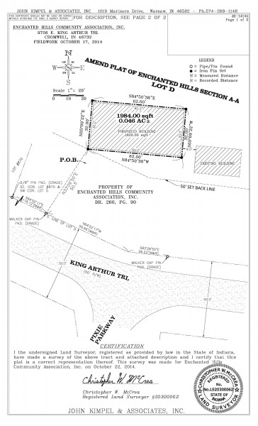 An architect's schematic depicting the size and location of the proposed community center in the Enchanted Hills subdivision. The building would provide office and program space for the homeowner's association and the Bowen Center, food pantry, thrift shop and storm shelter.