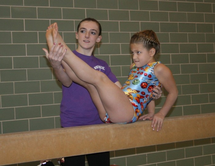 Gymnastics Lessons at Wawasee