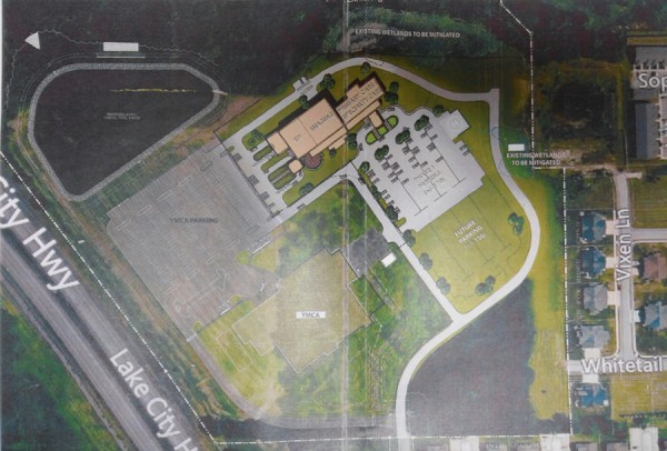 Shown is a view of the Parkview/YMCA campus. An agreement spelling out the responsibilities of Parkview Health System and those of the city of Warsaw was signed Friday.