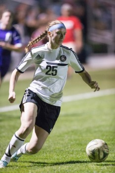 Sophomore Meredith Hollar of Grace,  a former star at WCHS, returned from a knee injury to play a key role in her team's top season in program history this year.