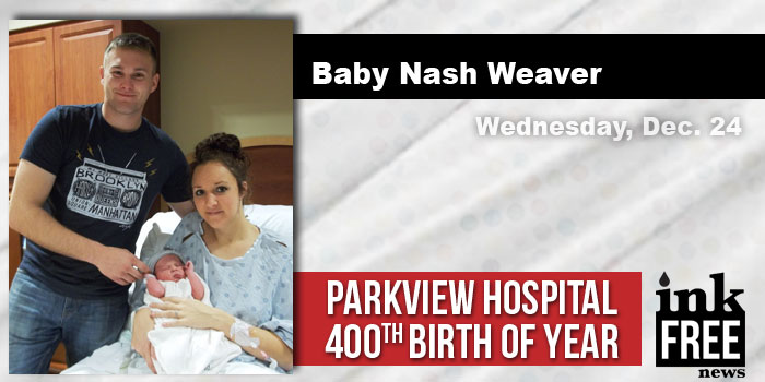 baby-nash-weaver 400th birth at Parkview