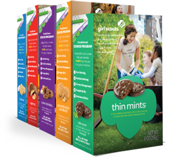 Girl Scout cookie sales will now also take place online. (Photo provided)