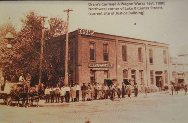 Oram's Carriage and Wagon Works (Photo Provided)