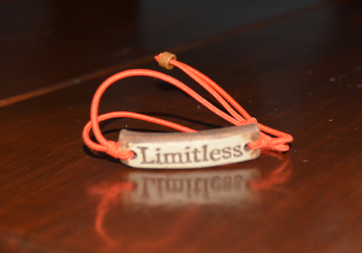 Special MudLove Limitless bracelets were available for  sale. (Photo by Jarrett Van Meter)
