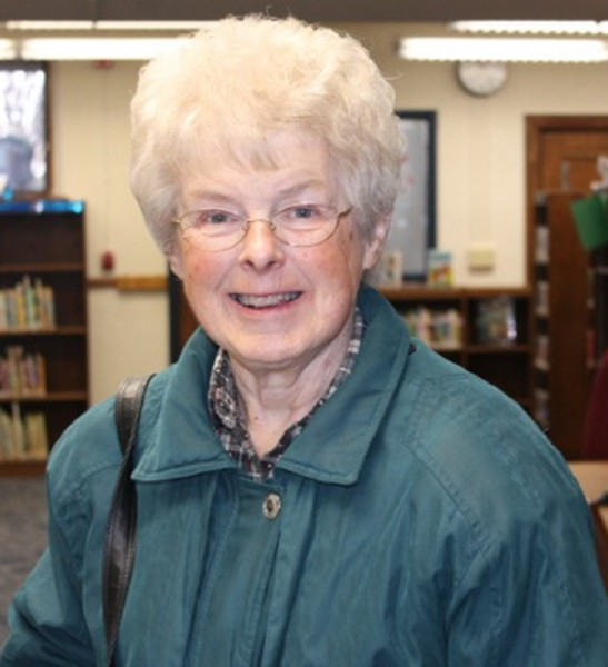 Shirley Bobeck has served on the Syracuse Library Board as treasurer for 16 years. As treasurer she signed all the checks each month, often making special trips into the library during the month. She retired this December and both she and her husband Arlen are working on improving some health issues. The library will miss Bobeck's enthusiastic support.