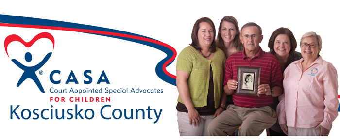 CASA of Kosciusko County has continued to grow since its inception in 1990, but is still seeking more volunteers. (Photo provided)