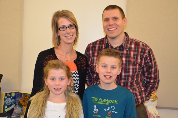 Heather has lived in Warsaw with her husband Brian for over seven years.  They have two children, Jonah and Claire, who currently attend Madison Elementary.   (Photo provided)