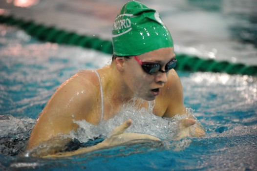 Concord senior Ashley Schrock is looking to defend her NLC breaststroke title.