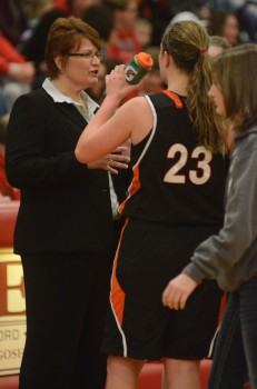 Warsaw girls basketball coach Michelle Harter will lead her team into regional play on Saturday at LaPorte.