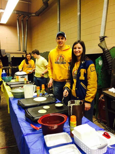 Pictured are Triton FFA members: Lexee Lemler, Wes Williamson, Andrew Chupp, and Autumn Kann.