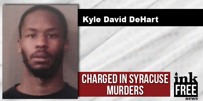 Kyle Dehart charges syracuse shooting