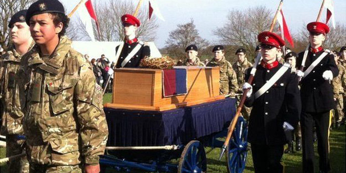 King Richard III reburial