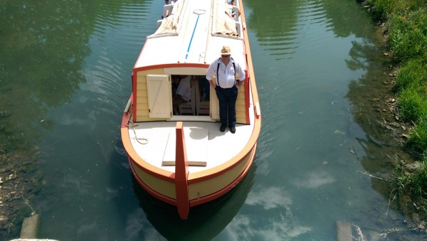 Visitors to the Wabash and Erie Canal can enjoy a 35-minute floating trip on the Delphi, a replica of a 19th-century canal boat.