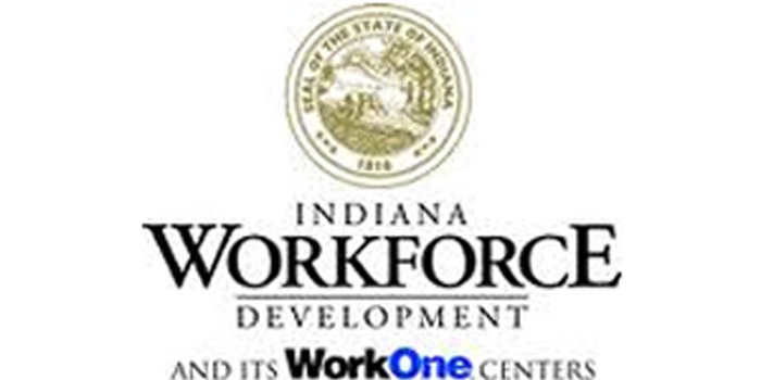 Indiana Dept. Workforce Development logo