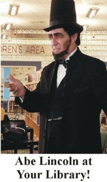 Abe Lincoln at your library.unnamed