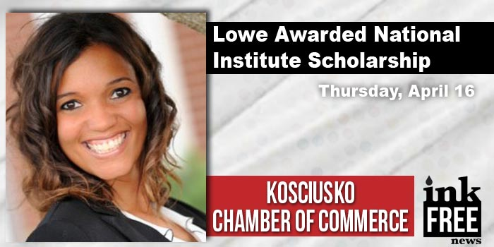 Alyssa-Lowe,-Kosciusko-Chamber-National-Institute-Scholarship