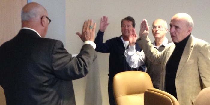 Warsaw Redevelopment Authority Oath of Office