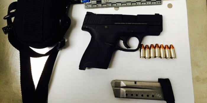 gun found Indianapolis airport