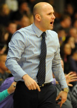 Triton boys basketball head coach Jason Groves was selected to assist the Indiana All-Star basketball team this summer. (File photo by Mike Deak)