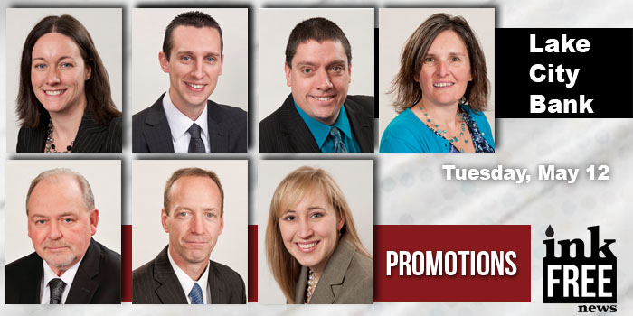 Lake City Bank promotsions