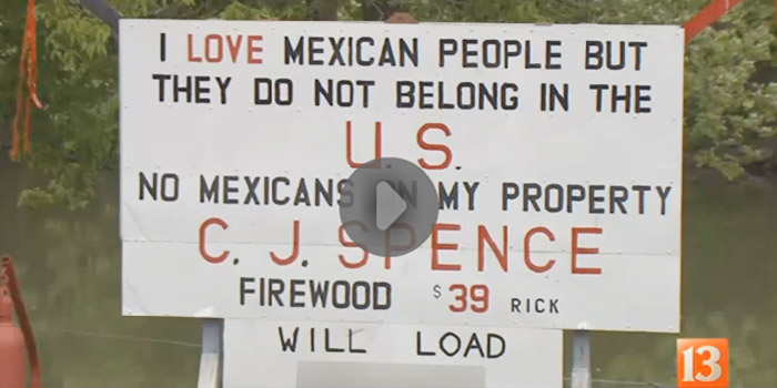 Mexican sign controversy