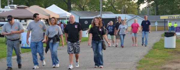Laps were walked by guests to help show support of those who have suffered from all forms of cancer.
