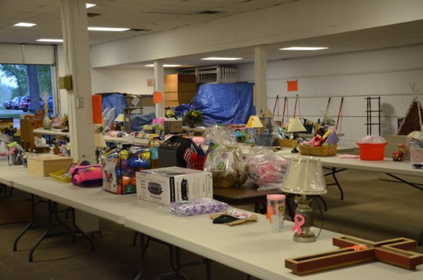 A Silent Auction was held to help raise funds to help those locally suffering from cancer.