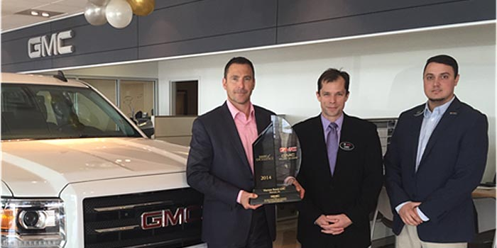 Warsaw Buick Gmc >> Local Dealership Receives Gm Mark Of Excellence Award Inkfreenews Com