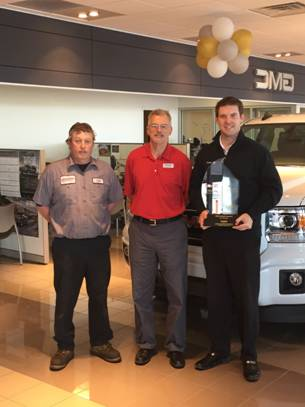 Warsaw Buick Gmc >> Local Dealership Receives Gm Mark Of Excellence Award