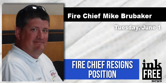 fire chief resigns